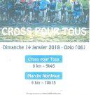 Cross Pour Tous le 14 Janvier 2018 à Opio