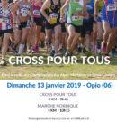 Cross Pour Tous le 13 Janvier 2019 à Opio