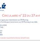 Circulaire n° 22 du 27 Avril 2020