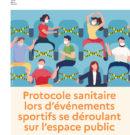 Protocole sanitaire lors d'événements sportifs se déroulant sur l'espace public